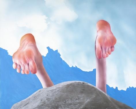 Robert Feintuch Over the Hill (Gravel), 2015-6