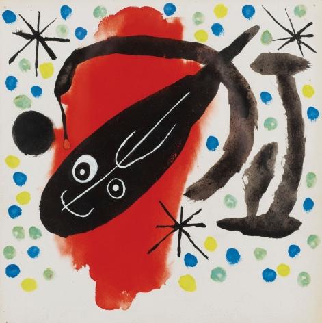 Projet de couverture pour Atmosfera Miró, 1959