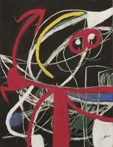 Femme, oiseaux, 1976