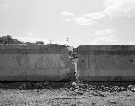 Patrice Aphrodite Helmar  Concrete Wall, New Mexico, 2016  C-print  41 x 51 cm / 16 x 20 in  Edition of 5 + 2 AP