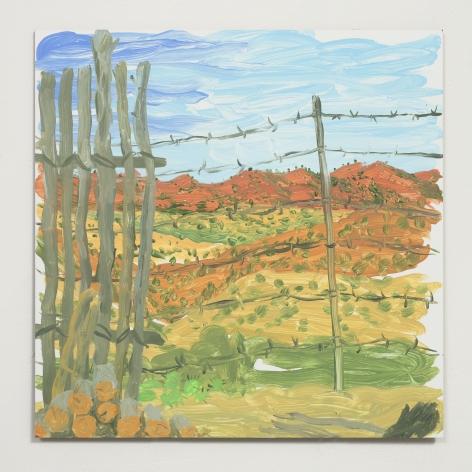 Esteban Cabeza de Baca  Untitled, 2021  Acrylic on canvas  30.5 x 30.5 cm / 12 x 12 in