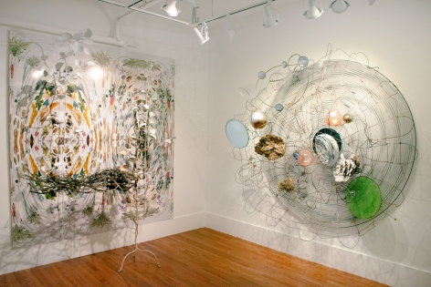 Judy Pfaff  Installation view  Solo Exhibition at Gaa Gallery - Provincetown  May 31 - July 15, 2019