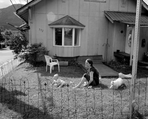 Patrice Aphrodite Helmar  Corner House - Juneau, Alaska, 2018  C-print  41 x 51 cm / 16 x 20 in
