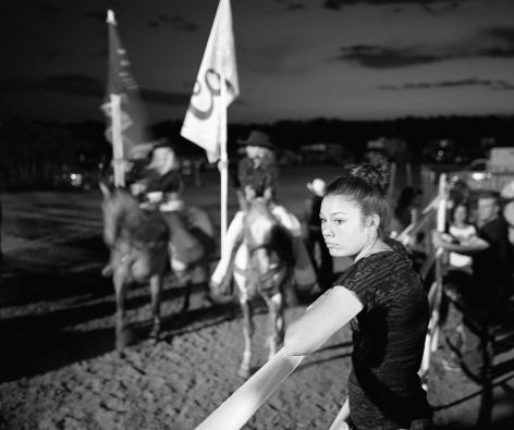 Patrice Aphrodite Helmar  Girl at the rodeo - Silver City, New Mexico, 2017  C-print  41 x 51 cm / 16 x 20 in  Edition of 5 + 2 AP