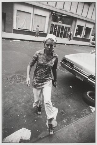 Gary Winogrand  Untitled from the series Women are Beautiful, 1960-1979  Gelatin silver print  34.29 x 23.81 cm / 13 1/2 x 9 3/8 in  Framed: 40.64 x 51.44 cm / 16 x 20 1/4 in  Edition 50 of 80