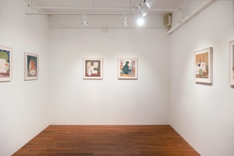 Erika Wastrom Just Us Here November 27, 2020 - February 27, 2021 Gaa Gallery Provincetown -  Installation View