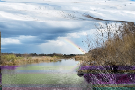 Barry Stone  Man at the End of the Rainbow, 2015  Archival inkjet print  86.36 x 129.54 cm / 34 x 51 in Edition of 3 + 1 AP