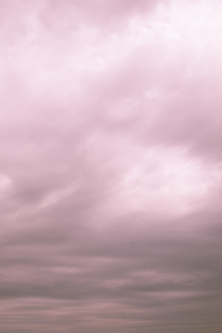 Barry Stone  Cotton Candy Clouds DSF1912_1, Popham Beach State Park, 2017-2019  Archival Inkjet Print  48.26 x 33.02 cm / 19 x 13 in  Edition of 3 + 1 AP