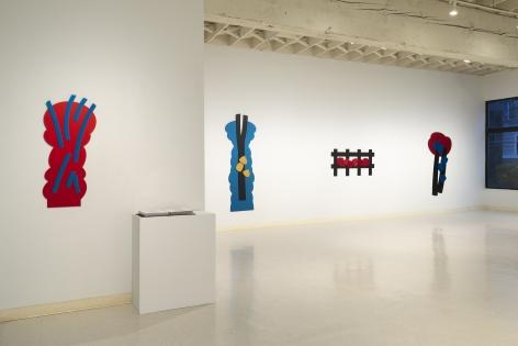 Mel Katz - Wall Sculpture - March 2019 - Installation View 08