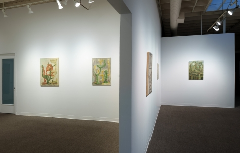 Whiting Tennis | Studio | Russo Lee Gallery | April 2021 | Installation View 02