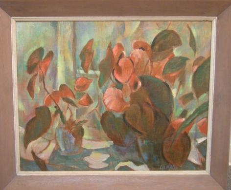 Still Life (Begonia) (#3)