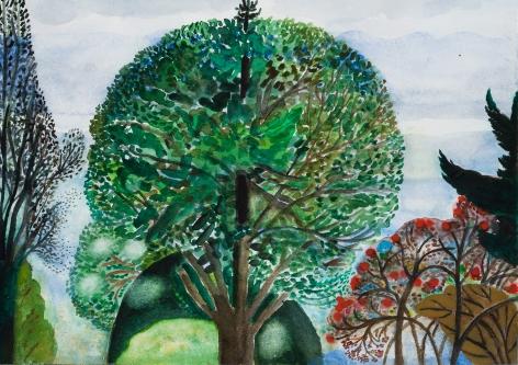 Fay Jones Two Trees 10