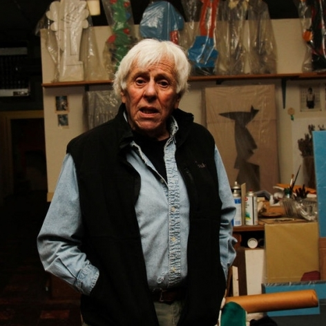 Inside the studio with Mel Katz: 50 years into his career, Portland art luminary still sparkles