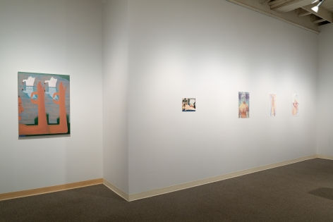 Drinking the Reflection-curated by Elizabeth Malaska-Russo Lee Gallery-Portland-november 2019-Installation view 05