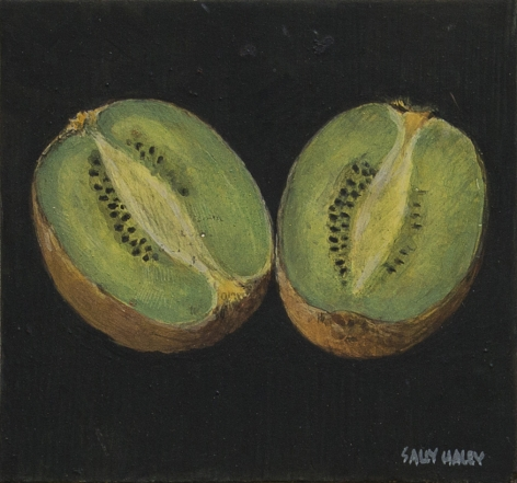 Sally Haley - Kiwi on Black