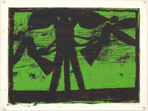 Michael Spafford (b. 1935)  Odysseus, 2007