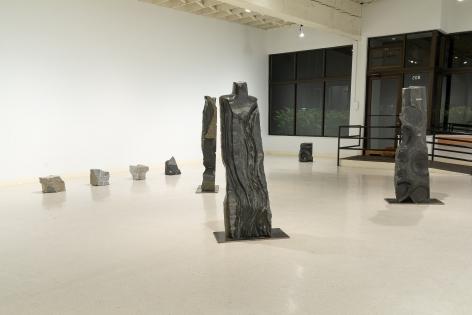 Michihiro Kosuge - Recent Sculpture - August 2019 - Russo Lee Gallery - Installation View 06