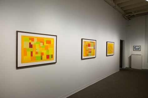 Margot Voorhies Thompson | Desert Light | Russo Lee Gallery | Portland Oregon | March 2020 | Install View 03