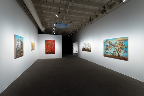 Kim Osgood   Going Into the Forest   Russo Lee Gallery   May 2021   Installation view 01