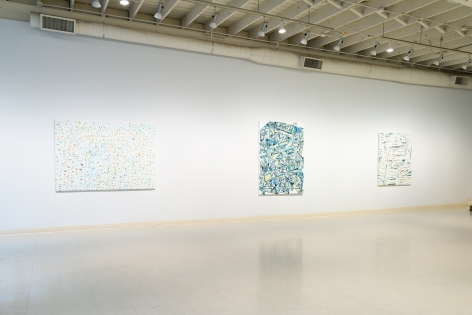 Whitney Nye - Tack - July 2019 - Installation view 02