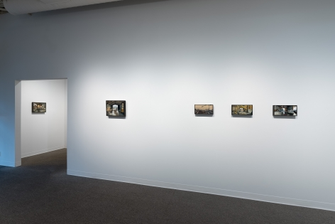 Roll Hardy   New Paintings   March 4–27, 2021   Install view 05