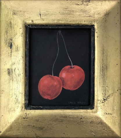 Sally Haley (1908-2007)  Untitled (Two Cherries), c. 1980's