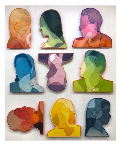 Dan Gluibizzi - nine heads