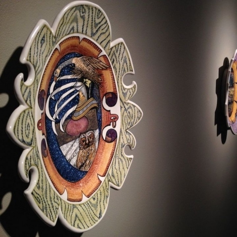 Portland ceramic artist Connie Kiener creates breakout show