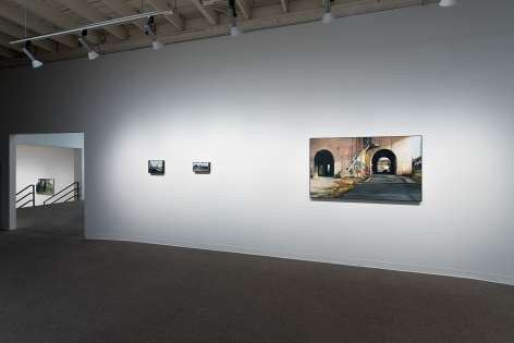 Roll Hardy   New Paintings   March 4–27, 2021   Install view 04
