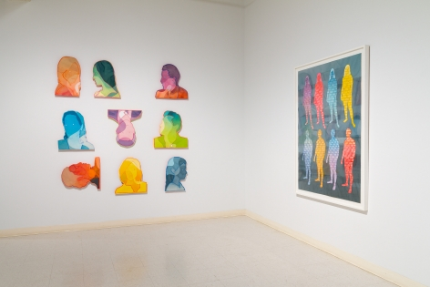 Dan Gluibizzi | A coupled search | September 2019 | Russo Lee Gallery | Installation view 017