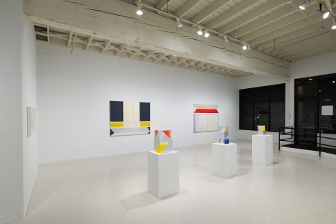 Betty Merken | Persuasive Geometry | March 2020 | Russo Lee Gallery | Portland Oregon | Installation view 01