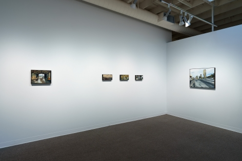 Roll Hardy   New Paintings   March 4–27, 2021   Install view 02