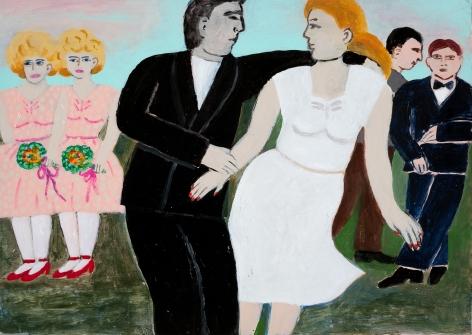 Fay Jones (b. 1936)  Wedding Plans