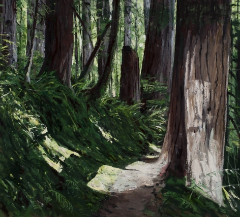 Michael Brophy (b. 1960)  The Trail II, 2021