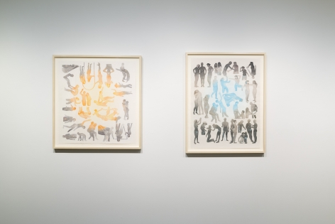 Dan Gliuibizzi | Together we follow | Installation view 2