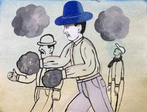 Jones - Three Men in Hats