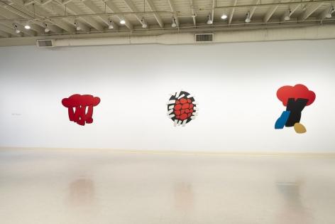 Mel Katz - Wall Sculpture - March 2019 - Installation View 02