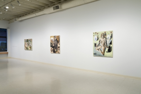 Elizabeth Malaska   Heavenly Bodies   Installation View 1