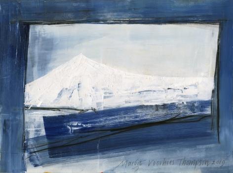 Margot Voorhies Thompson - White Mountain, Indigo Night