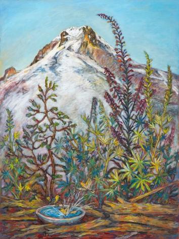 Kim Osgood (b. 1955)  Under the Mountains: Gaze, 2021