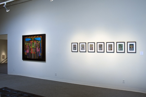Jackie K. Johnson at Laura Russo Gallery May 2012
