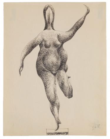 Bunce - Untitled female study