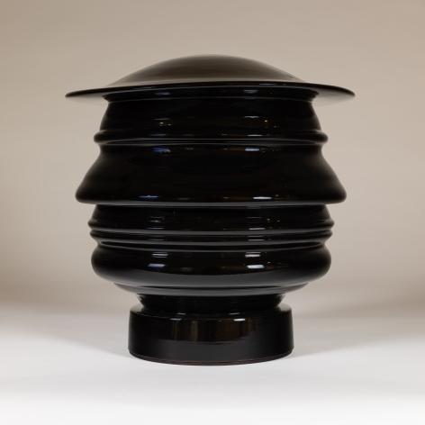 Richard Notkin -  Profilo Continuo del Trumpolini (black glaze)