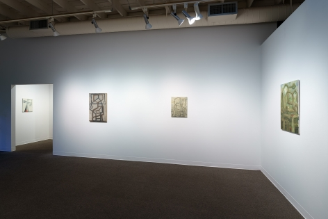 Whiting Tennis | Studio | Russo Lee Gallery | April 2021 | Installation View 06