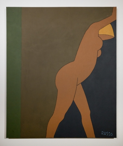 Michele Russo (1909-2004)  Untitled (Leaning Blond Nude)