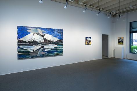 Lucinda Parker | Helens & Hood: Keep Safe Distance | June 16-July 31, 2020 | Installation View 03