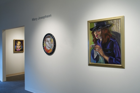 Mary Josephson show at Laura Russo Gallery, November 2015