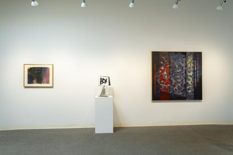 Early Northwest Artists - Installation View - June 2019 - Carl Morris, Louis Bunce, Michele Russo, Sally Haley, Manuel Izquierdo - view 07