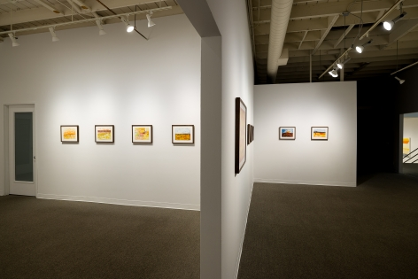 Margot Voorhies Thompson | Desert Light | Russo Lee Gallery | Portland Oregon | March 2020 | Install View 07