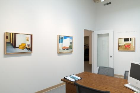 Gabe Fernandez   Shelters   January 2018   Installation View